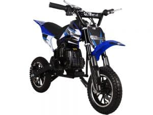 MotoTec 49cc GB Dirt Bike Blue_5