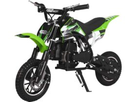 MotoTec 49cc GB Dirt Bike Green