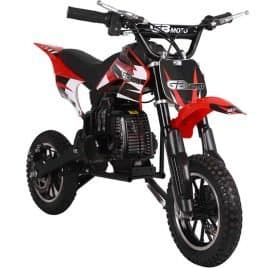 MotoTec 49cc GB Dirt Bike Red