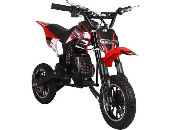 MotoTec 49cc GB Dirt Bike Red