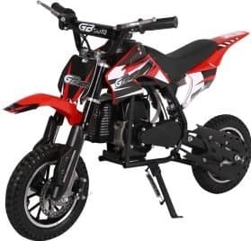 MotoTec 49cc GB Dirt Bike Red_5