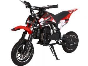 MotoTec 49cc GB Dirt Bike Red_5