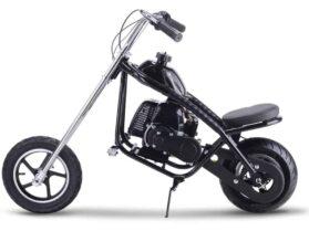 MotoTec 49cc Gas Mini Chopper Black_4
