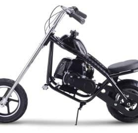 MotoTec 49cc Gas Mini Chopper Black_4