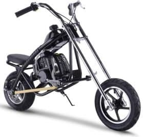 MotoTec 49cc Gas Mini Chopper Black_5