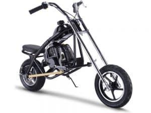 MotoTec 49cc Gas Mini Chopper Black_5