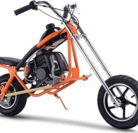 MotoTec 49cc Gas Mini Chopper Orange_4