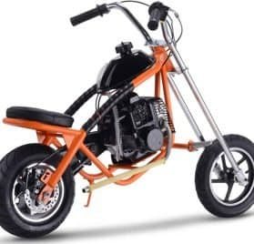 MotoTec 49cc Gas Mini Chopper Orange_5