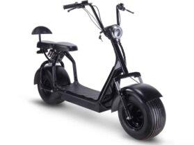 MotoTec Knockout 48v 1000w Electric Scooter Black