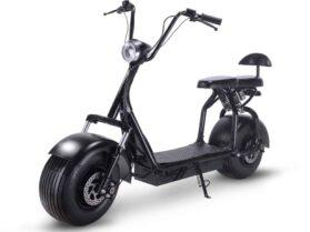 MotoTec Knockout 48v 1000w Electric Scooter Black_2