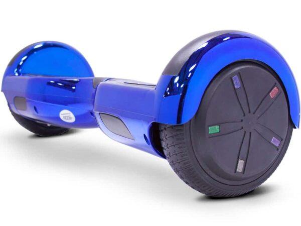 MotoTec Self Balancing Scooter 24v 6.5in Blue Chrome_2