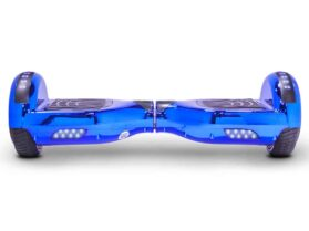 MotoTec Self Balancing Scooter 24v 6.5in Blue Chrome_3