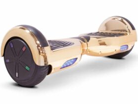 MotoTec Self Balancing Scooter 24v 6.5in Gold Chrome