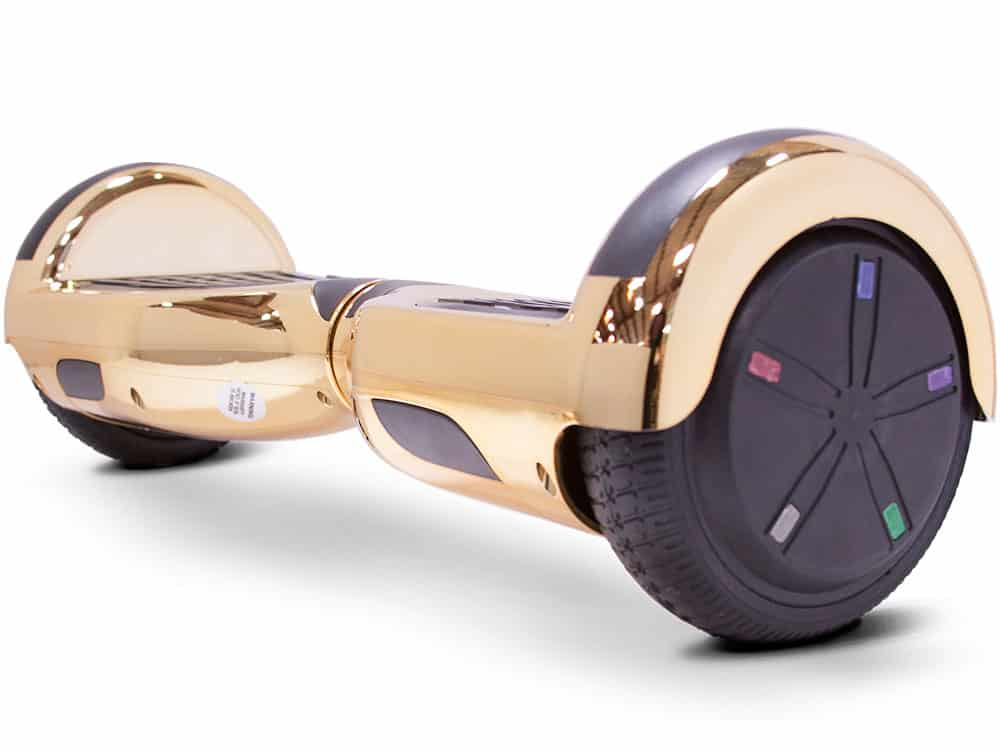 MotoTec Self Balancing Scooter 24v 6.5in Gold Chrome_2
