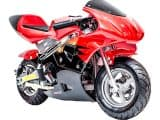 Rosso Gas Pocket Bike 33cc 2-Stroke Red