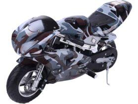 Rosso Gas Pocket Bike 33cc 2-Stroke Urban_4