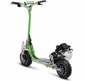UberScoot 70x 2-Speed Gas Scooter Green_2