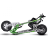 UberScoot 70x 2-Speed Gas Scooter Green_3