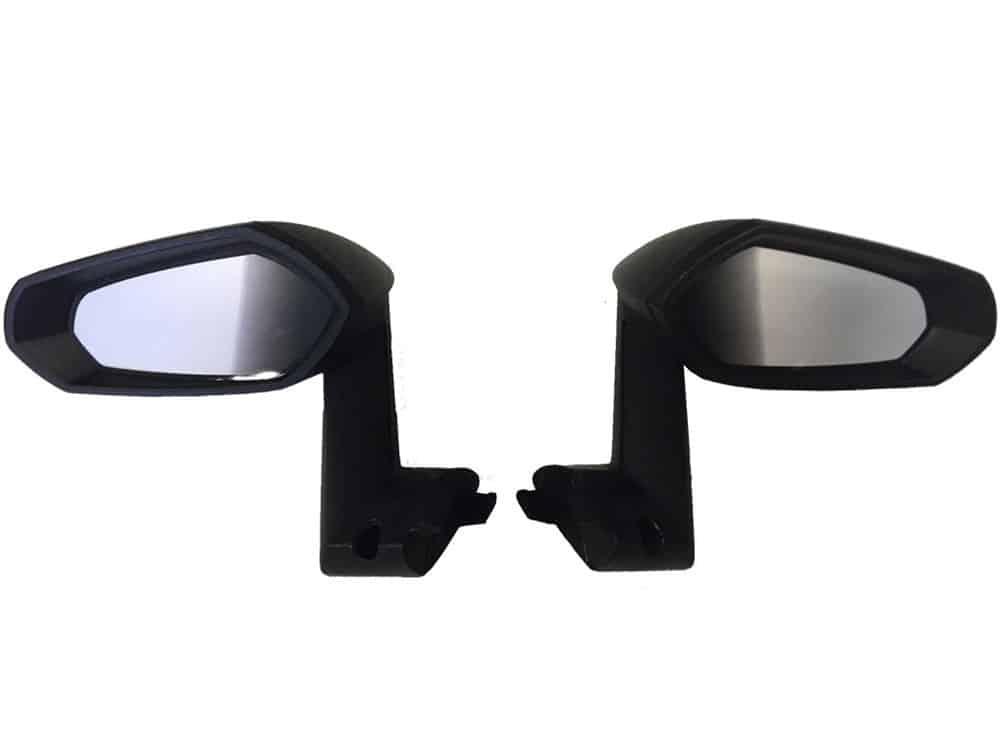 Mini Moto 12v Lambo Mirrors Black