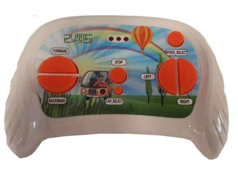 Mini Moto 12v UTV Remote Control Blue Button