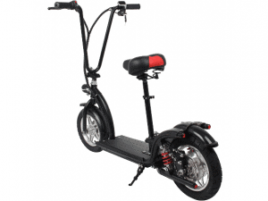 MotoTec 36v 350w Lithium Folding Electric Scooter Black_2