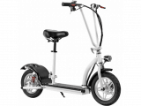 MotoTec 36v 350w Lithium Folding Electric Scooter White