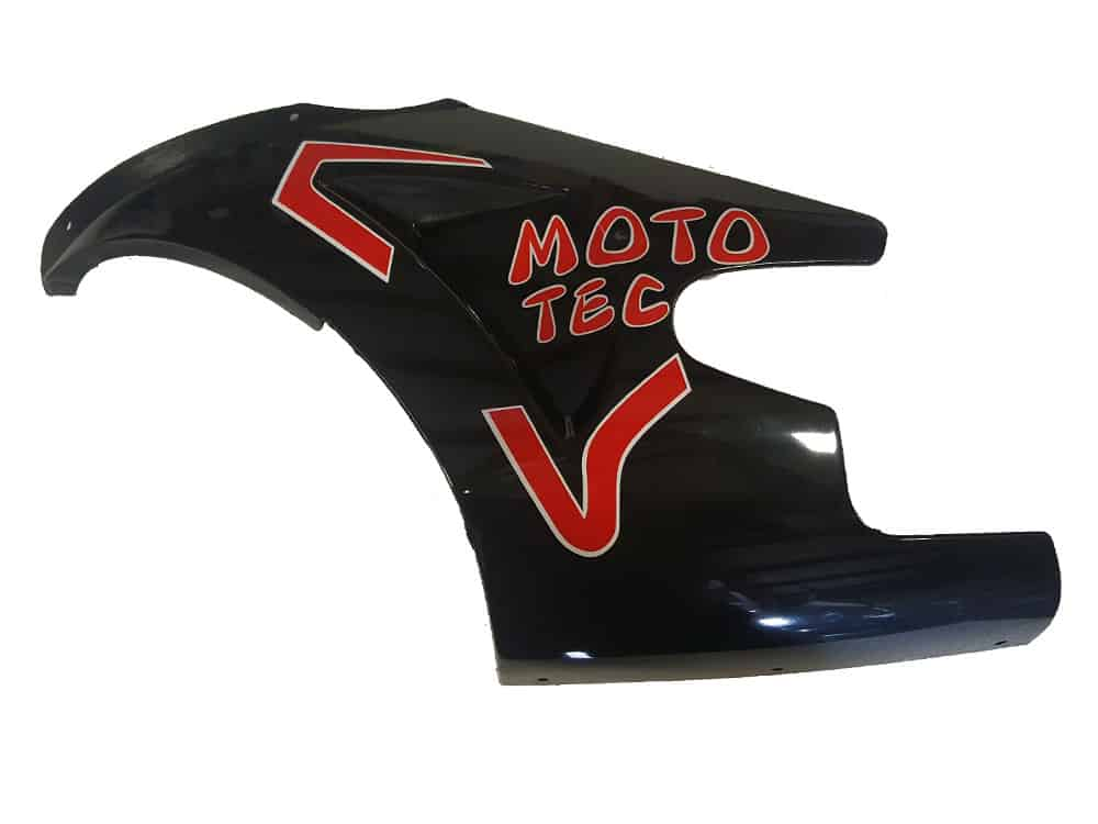 MotoTec GT Pocket Bike - Left Fairing Red