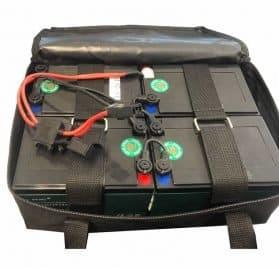 UberScoot 1600w Batterypack (48v)