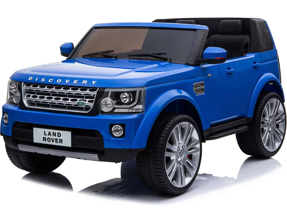 Mini Moto Land Rover Discovery 12v Blue (2.4ghz RC)