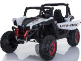 Mini Moto UTV 2x4 12v White (No RC)