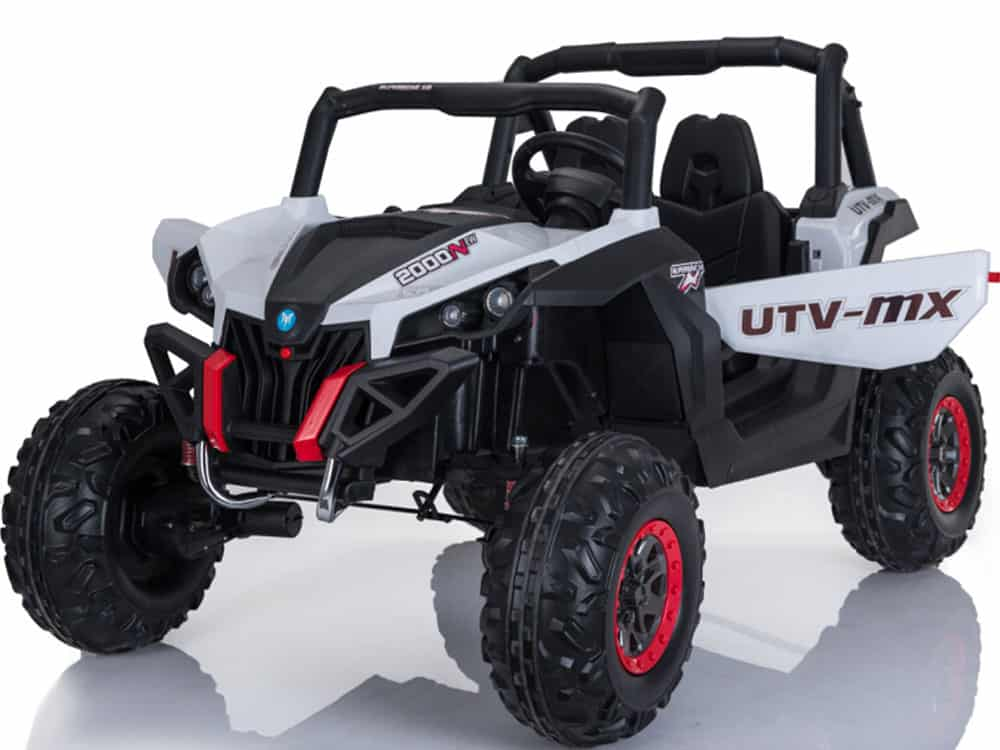 Mini Moto UTV 2x4 12v White (No RC)