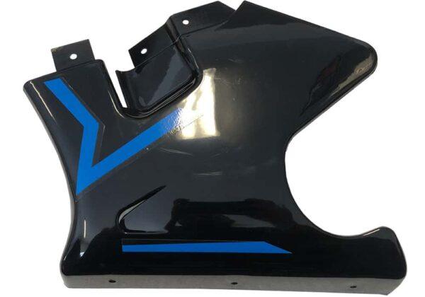 MotoTec Electric Pocket Bike Left Fairing Blue