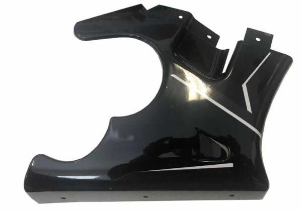 MotoTec Electric Pocket Bike Right Fairing Black