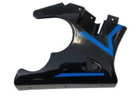MotoTec Electric Pocket Bike Right Fairing Blue