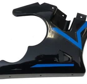 MotoTec Electric Pocket Bike Right Fairing Blue