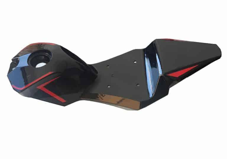 MotoTec Electric Pocket Bike Seat Body Red
