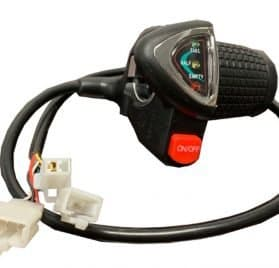 MotoTec 36v Blue Lithium Dirt Bike Twist Throttle