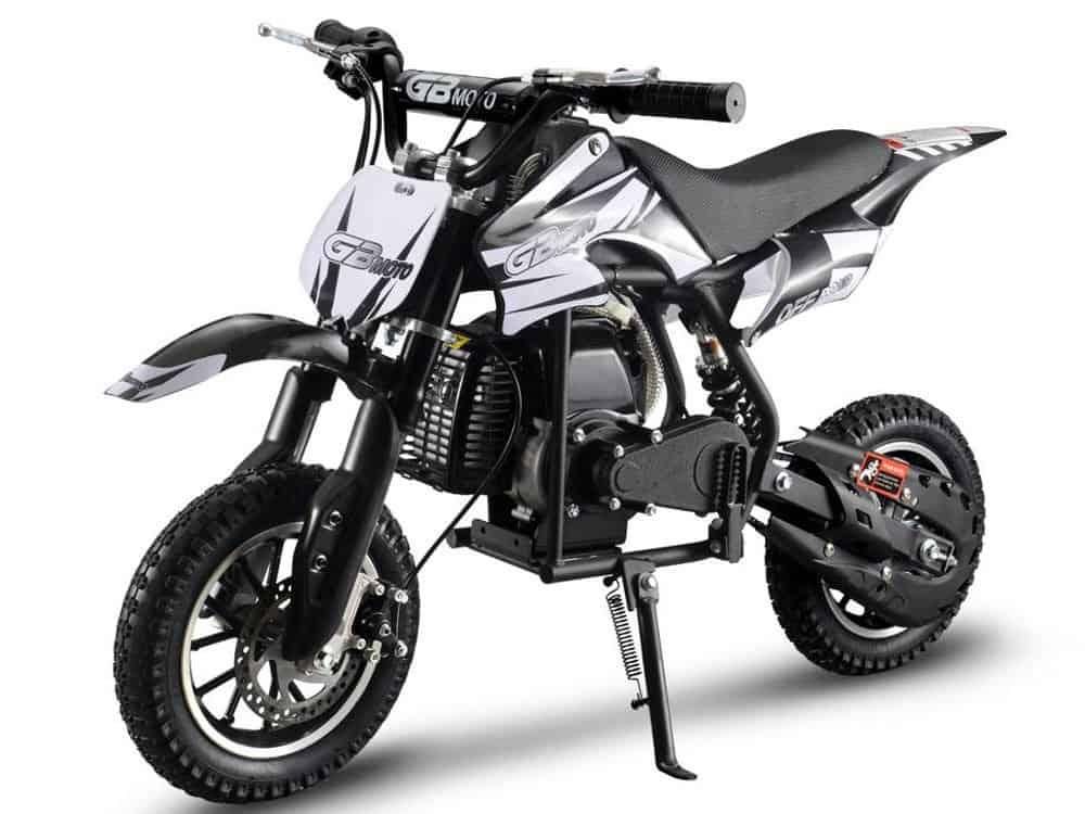 MotoTec 49cc GB Dirt Bike Black