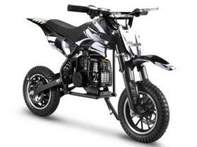 MotoTec 49cc GB Dirt Bike Black_3