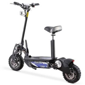 MotoTec Chaos 2000w 60v Lithium Electric Scooter Black-2