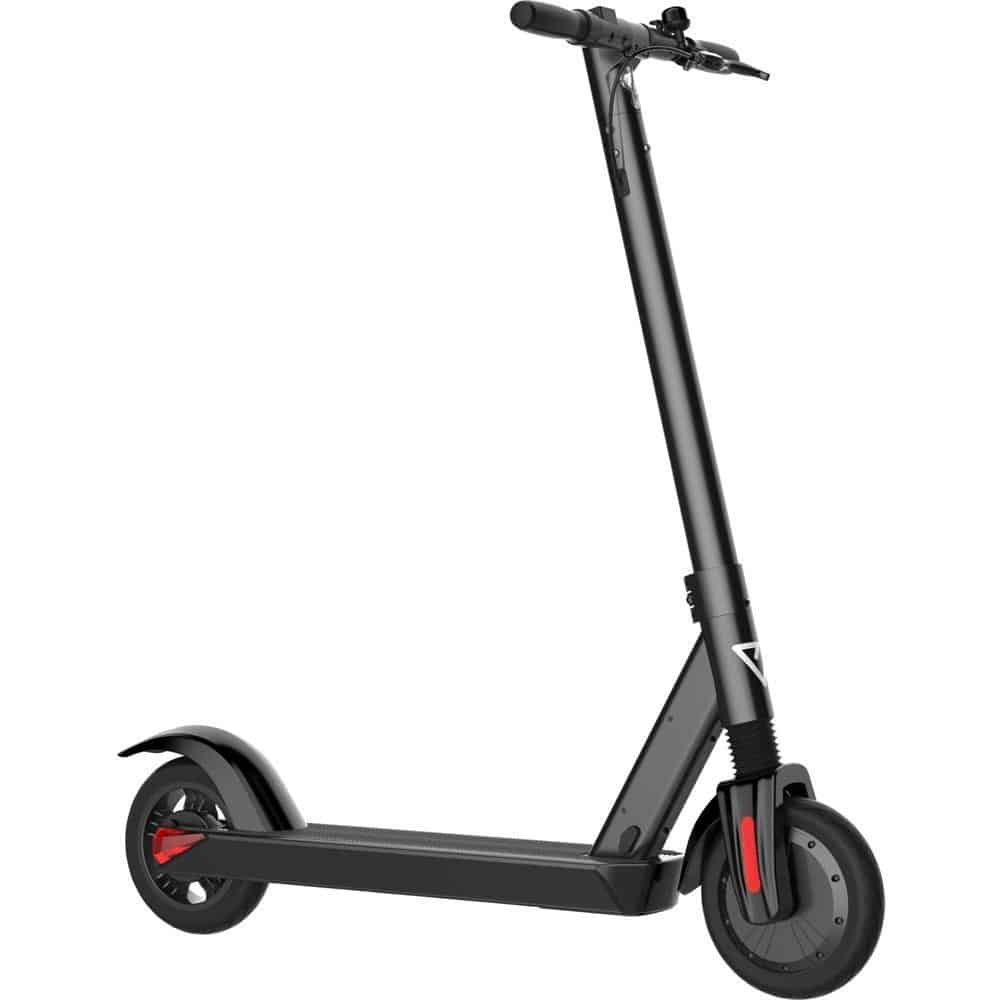 MotoTec City Pro 36v 8ah 350w Lithium Electric Scooter Black-3