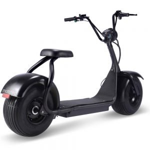 MotoTec Fat Tire 60v 18ah 2000w Lithium Electric Scooter Black_2