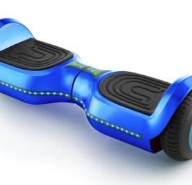MotoTec Hoverboard 24v 6.5in Wheel L17 Pro Blue