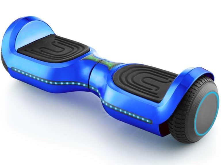 MotoTec Hoverboard 24v 6.5in Wheel L17 Pro Blue