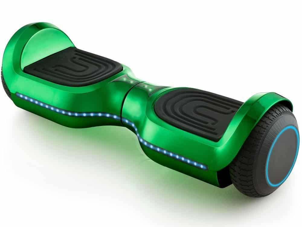 MotoTec Hoverboard 24v 6.5in Wheel L17 Pro Green