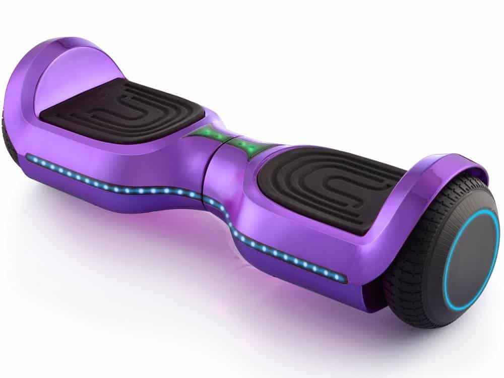MotoTec Hoverboard 24v 6.5in Wheel L17 Pro Purple