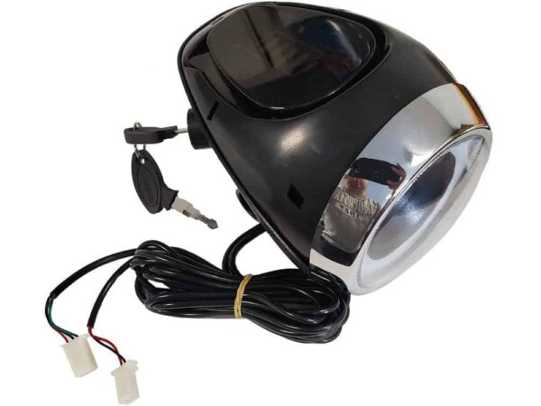 MotoTec Knockout Headlight