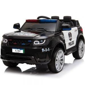 MotoTec Police Car 12v Black (2.4ghz RC)
