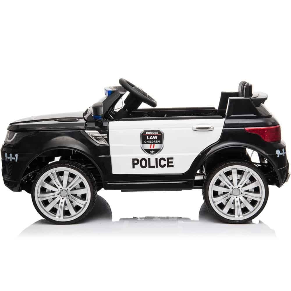 MotoTec Police Car 12v Black (2.4ghz RC)_3
