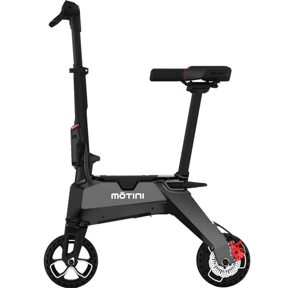Motini Nano 36v 250w Lithium Electric Scooter Black